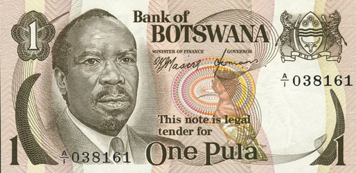 Botswana Banknotes