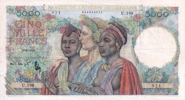 parité dollar franc cfa